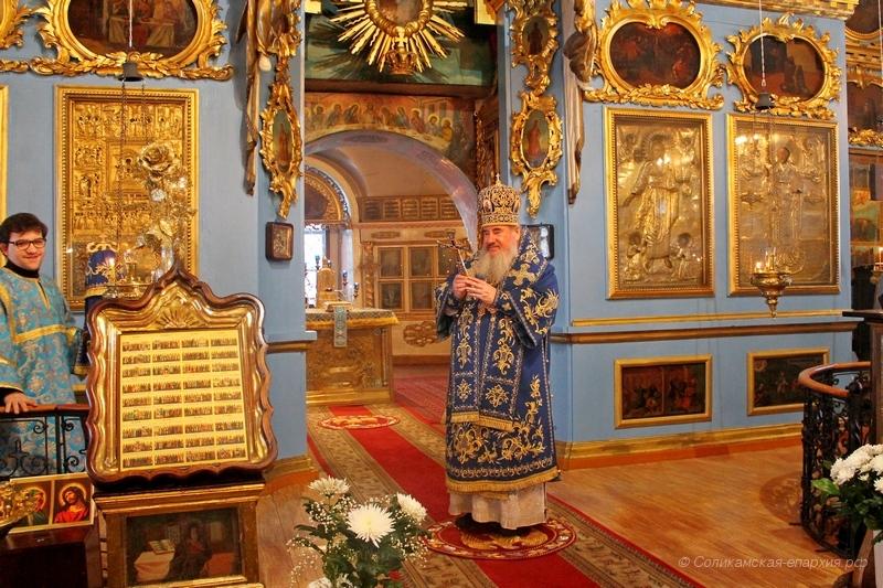 Престольный праздник Знаменского храма в селе Городище