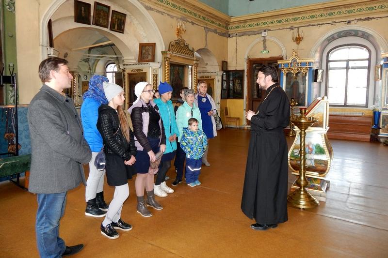 В Городище состоялась необычная экскурсия для школьников